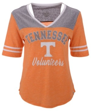 Colosseum Women's Tennessee Volunteers Mr Big V-neck T-Shirt