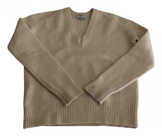 Acne Studios White Wool Knitwear