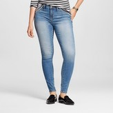 Mossimo Women's Mid-rise Jegging (Curvy Fit) Light Wash