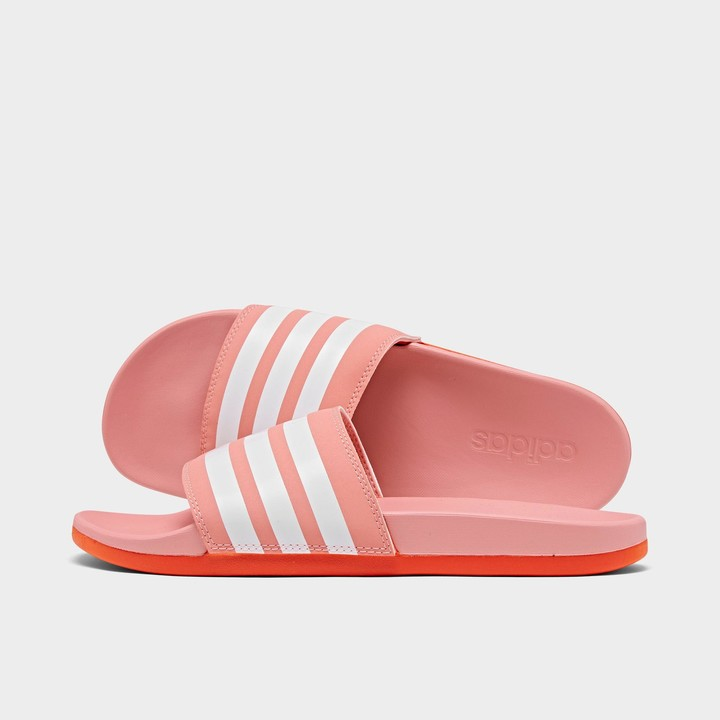 Canoa Novelista ignorar  Red Adidas Slide | Shop the world's largest collection of fashion |  ShopStyle