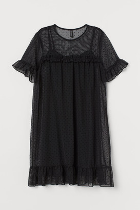 H&M Mesh Dress - Black