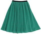 Bobo Choses Striped Organic Cotton Maxi Skirt