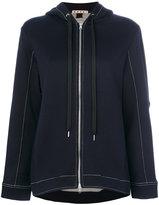 Marni drawstring hoodie - women - Cotton/Polyamide - 40