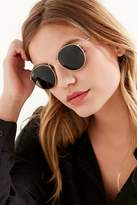386996f1e8c ... order ray ban round metal sunglasses in gold shopstyle australia 1d637  cca15