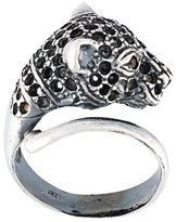 Iosselliani 'Silver Heritage' cheetah ring
