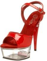 Pleaser USA Women's Captiva-609 Platform Sandal