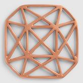 Copper Geo Trivet