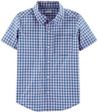 Carter's Boys 4-14 Button Front Shirt