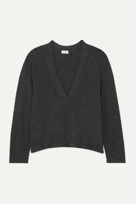 Leset Lori Brushed Stretch-knit Top - Gray