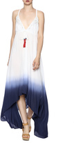 Nicole Miller Dip Dye Beaded Dress