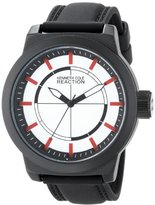 Kenneth Cole Reaction Unisex RK1420 Street Fashion Analog Display Japanese Quartz Black Watch