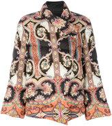 Etro multi-printed puffer jacket - women - Polyamide/Polyester - 40