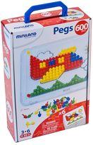 Miniland 600-pc. Peg Set