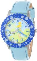 Disney Kids' W000068 Tinker Bell Stainless Steel Time Teacher Watch