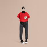 Burberry Skinny Fit Stretch Denim Jeans , Size: 10Y, Grey