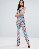 Little Mistress Floral Jumpsuit
