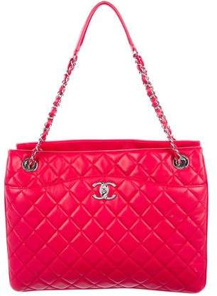 Chanel Accordion Shopping Tote