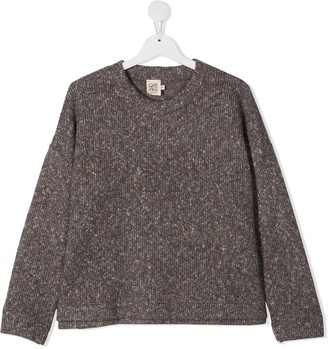 Caffe' D'orzo Speckled Knit Jumper