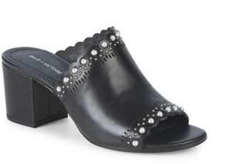 Pour La Victoire Amela Leather Sandals