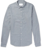 Sandro - Slim-fit Cotton-flannel Shirt