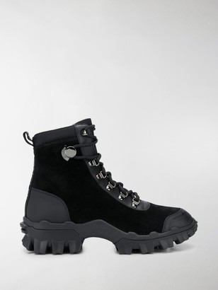 Moncler Ridged-Sole Military Boots