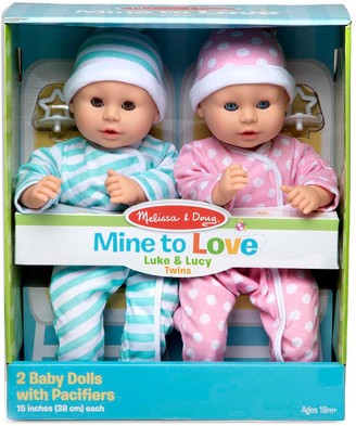 Melissa & Doug Mine to Love Luke & Lucy
