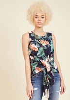 ModCloth A Taste for Tropical Sleeveless Top in XL