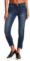 Jolt Side Pipe Raw Skinny Jean (Juniors)