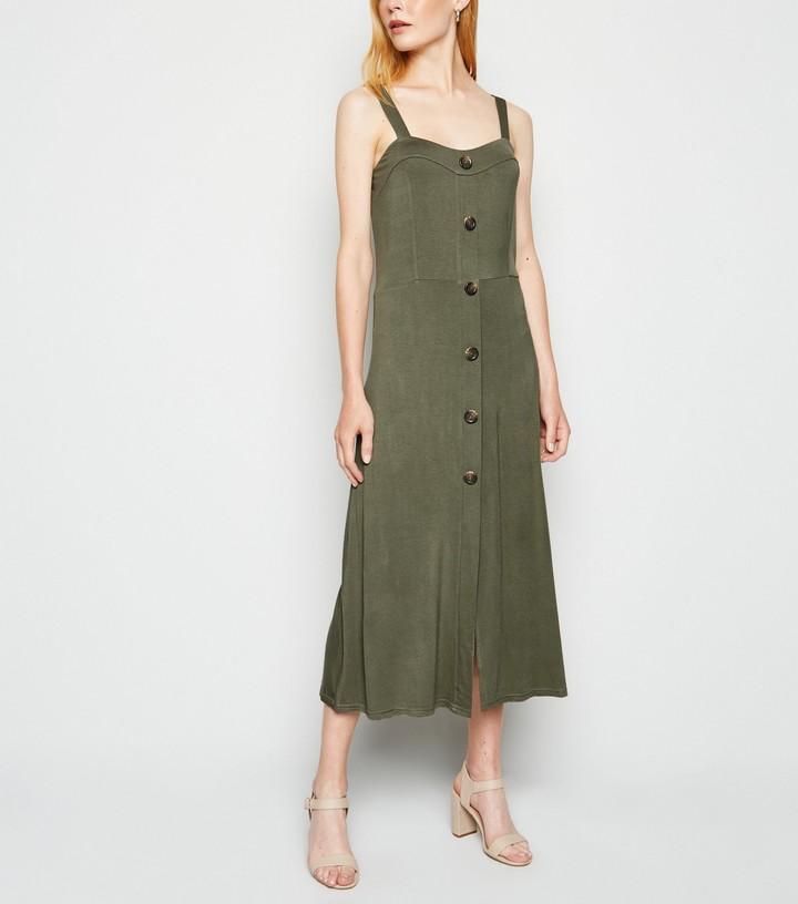 New Look Cameo Rose Jersey Midi Dress