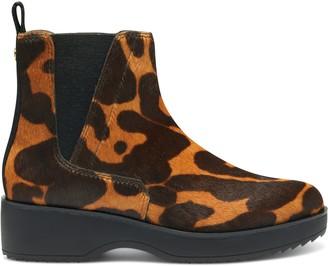 Louise et Cie Zareb3 Leopard-Print Platform Ankle Boot