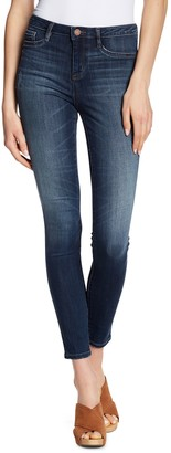 William Rast Sculpted High Waisted Skinny Jeans