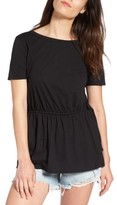 Hinge Women's Side Tie V-Back Tee