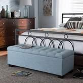 Latitude Run Kareem Upholstered Storage Bench Upholstery