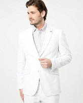 Le Château Linen Blend Contemporary Fit Blazer