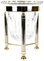 One Kings Lane Vintage Crystal Ice Bucket with Stand