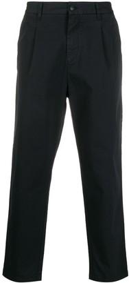 Emporio Armani Cropped Chino Trousers