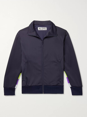 Aloye Panelled Tech-Jersey Track Jacket