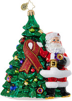Christopher Radko Red Ribbon Claus Ornament