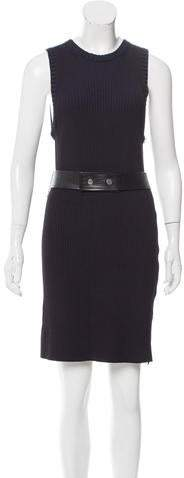 Calvin Klein Collection Ribbed Mini Dress