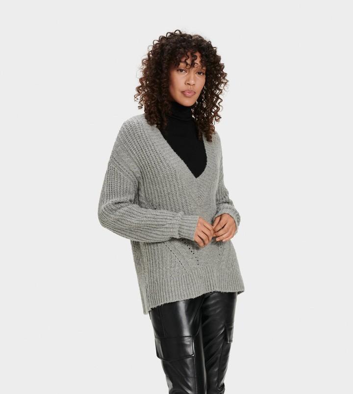 UGG Alva Deep V-Neck Sweater
