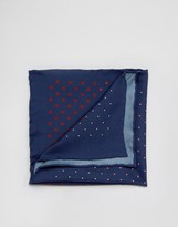 Original Penguin Silk Pocket Square Multi Colour Spots