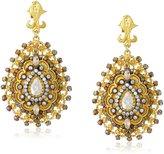 Azaara Florentine Sahara Bead Teardrop Earrings