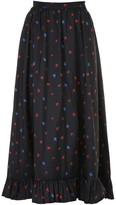 Philosophy di Lorenzo Serafini Long Floral Skirt