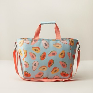 Indigo Insulated Cooler Bag Papayas