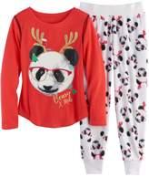 SO Girls 4-14 SO® Holiday Handkerchief Hem Tunic