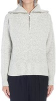 Isabel Marant Roll Neck Zip-Up Sweater