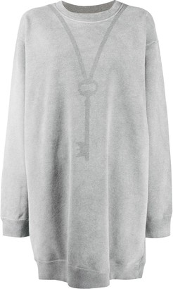 MM6 MAISON MARGIELA Key Print Detail Sweatshirt