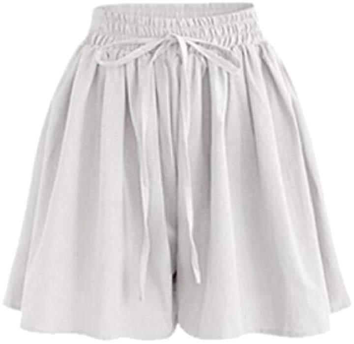 aa3edd9b8 White Elasticated Waist Shorts - ShopStyle Canada