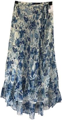 Polo Ralph Lauren Blue Silk Skirt for Women