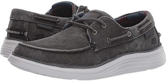 Skechers Status 2.0 - Lorano (Taupe) Men's Lace up casual Shoes